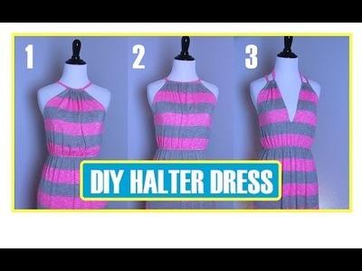 DIY Halter Dress