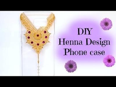 DIY Henna Design Phone Case