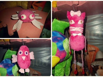 DIY Plush Toys. Plisane igracke. Peluches