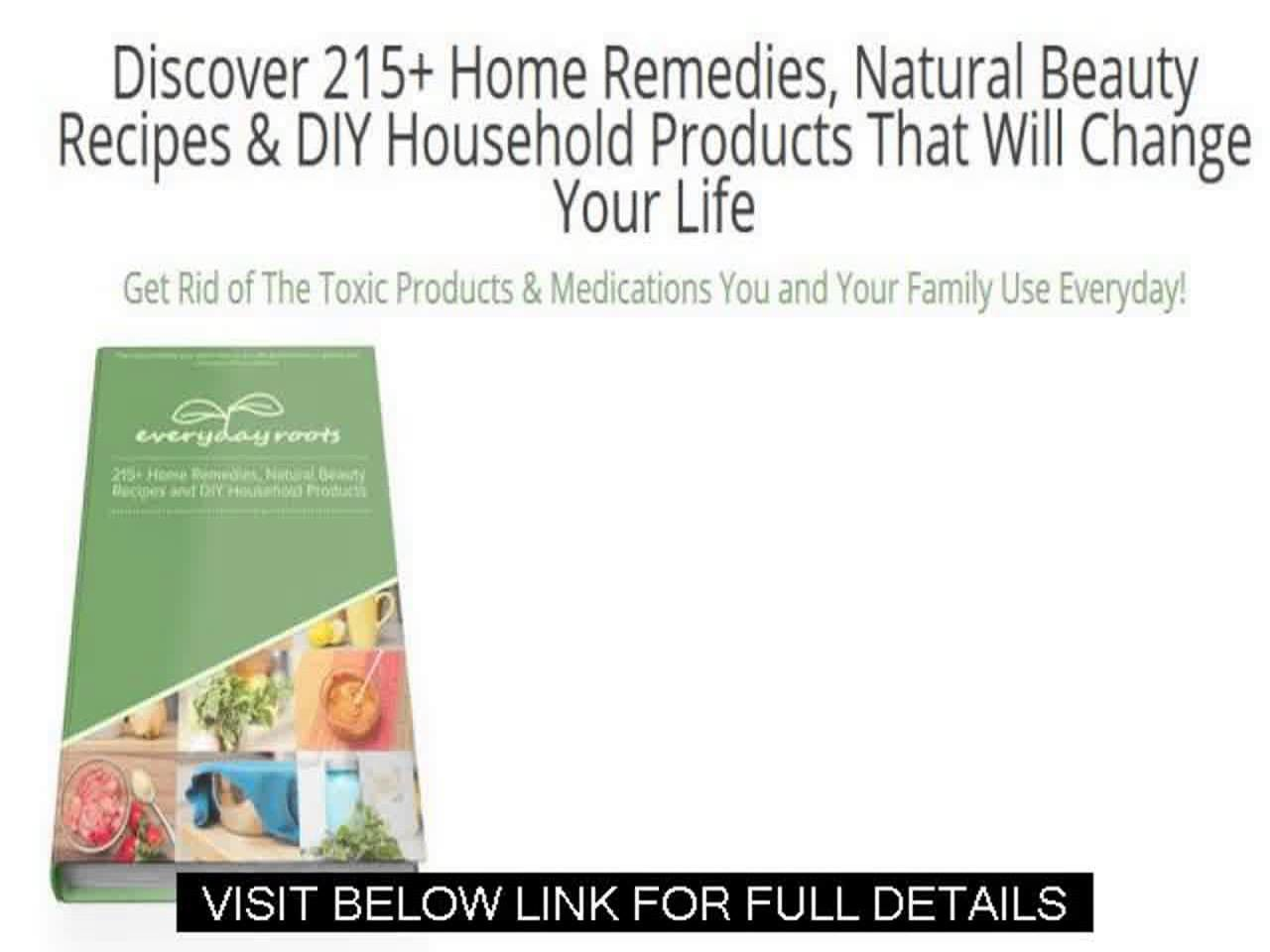 Homemade Beauty Recipes   Discover 215+ Home Remedies, Natural Beauty Recipes & Diy Household Produc