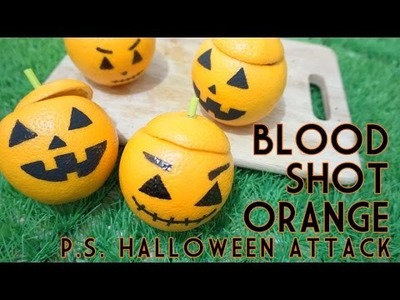 DIY Blood Shot Orange - Halloween Attack Popsicle Sister Indonesia