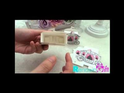 DIY Carriage Candy Box | Kotak Gula-gula Bentuk Kereta Kuda