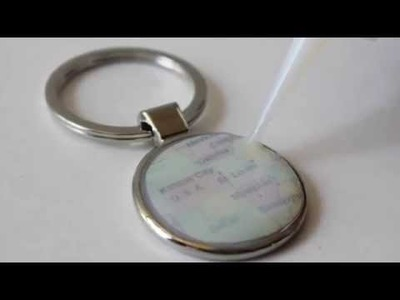 DIY Video: How To Make a Resin Map Keychain