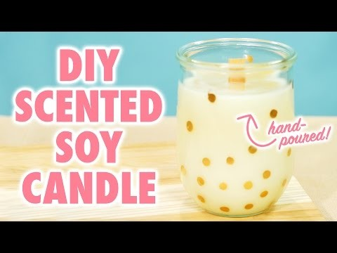 DIY Wood-Wicked Soy Candle - HGTV Handmade