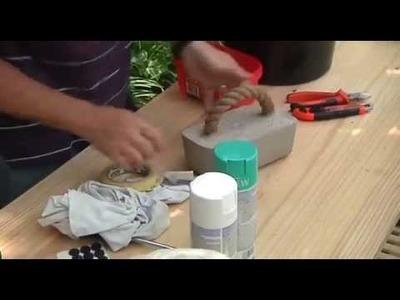 Builders DIY:  Concrete Door Stop