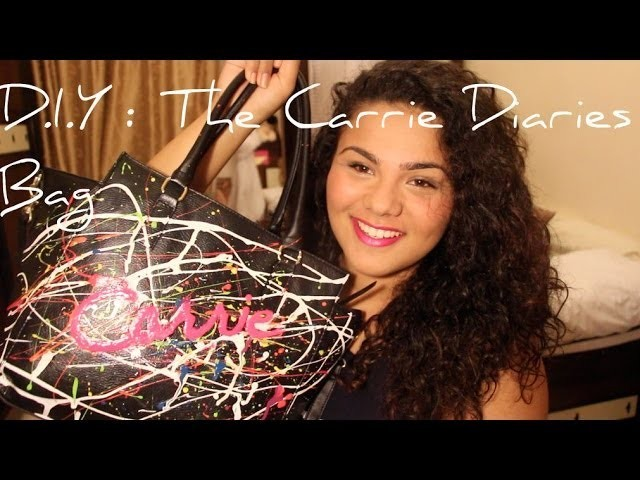 D.I.Y: The Carrie Diaries Bag