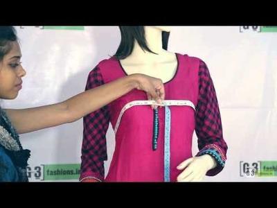 DIY - Body measurement for Salwar Kameez in 2 Steps at G3fashions