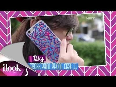 DIY: Cross Paint Phone Case - iLook