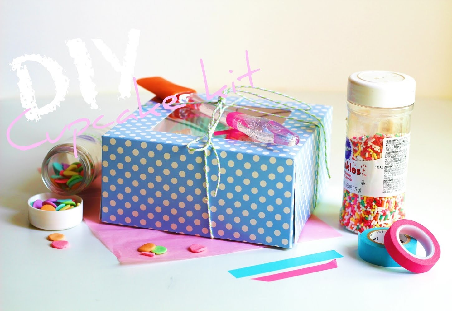 DIY | Cupcake decorating kit 'Gift