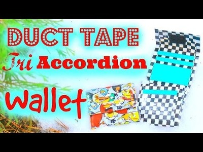 DIY Duct Tape Tri Accordion Smallet