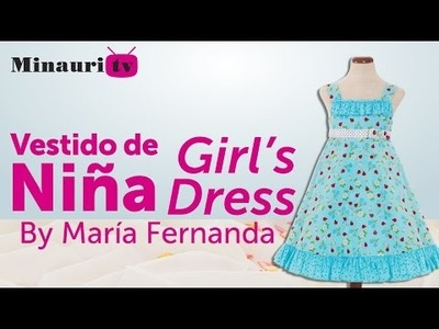 DIY -  Girl Dress - Vestido Niña - Vestito Bambina - Robe Fille - Mädchen-Kleid