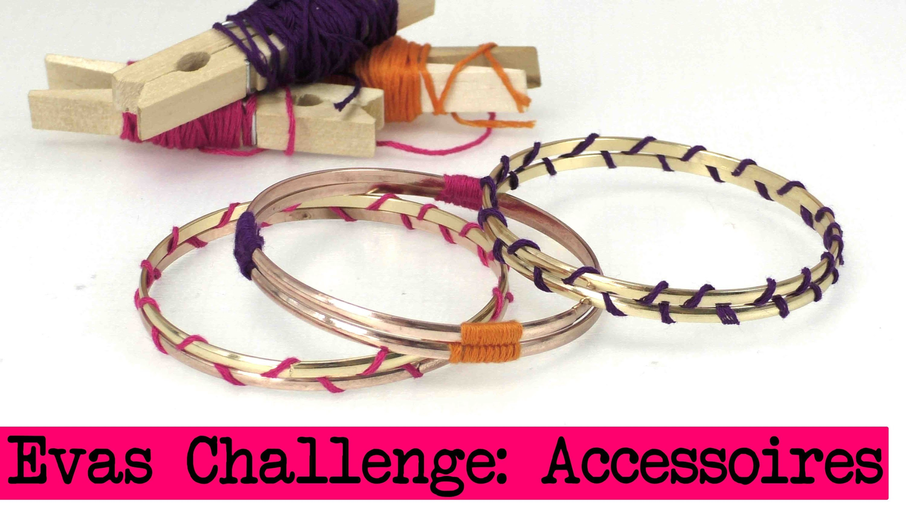 DIY Inspiration Challenge #15 Accessoires | Evas Challenge | Tutorial - Do it yourself