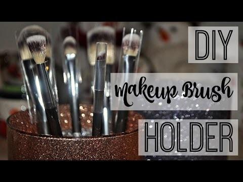 DIY Makeup Brush Holder ♡