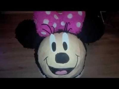 DIY: Minnie Mouse pinata