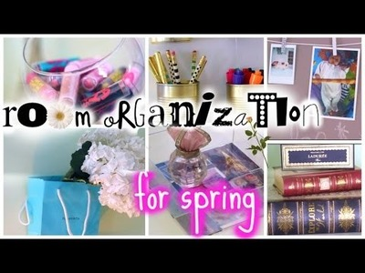 DIY Room Organization ♡ Spring Cleaning