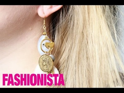Fashionista DIY: One Piece Earring