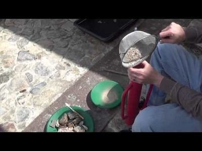 Gold Ore DIY Crusher and Flour Gold Panning