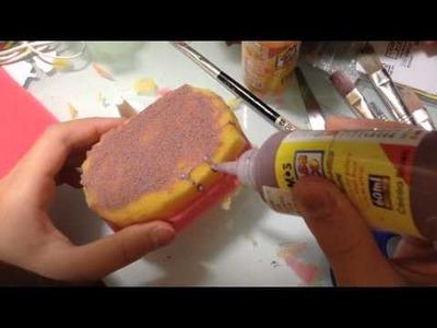 Lee chole DIY squishy(cake)