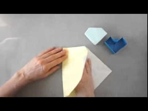 Tutorial for an Origami Heart-Petal Box