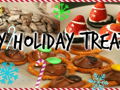Yummy and Easy DIY Holiday Treats!