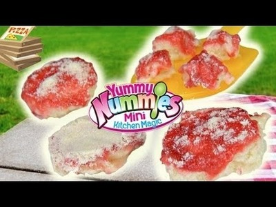 Yummy Nummies Pizza Party Maker DIY PIZZA NO BAKE OR OVEN!