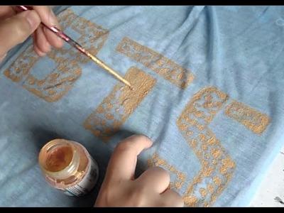 DIY: Bangtan Boys painting