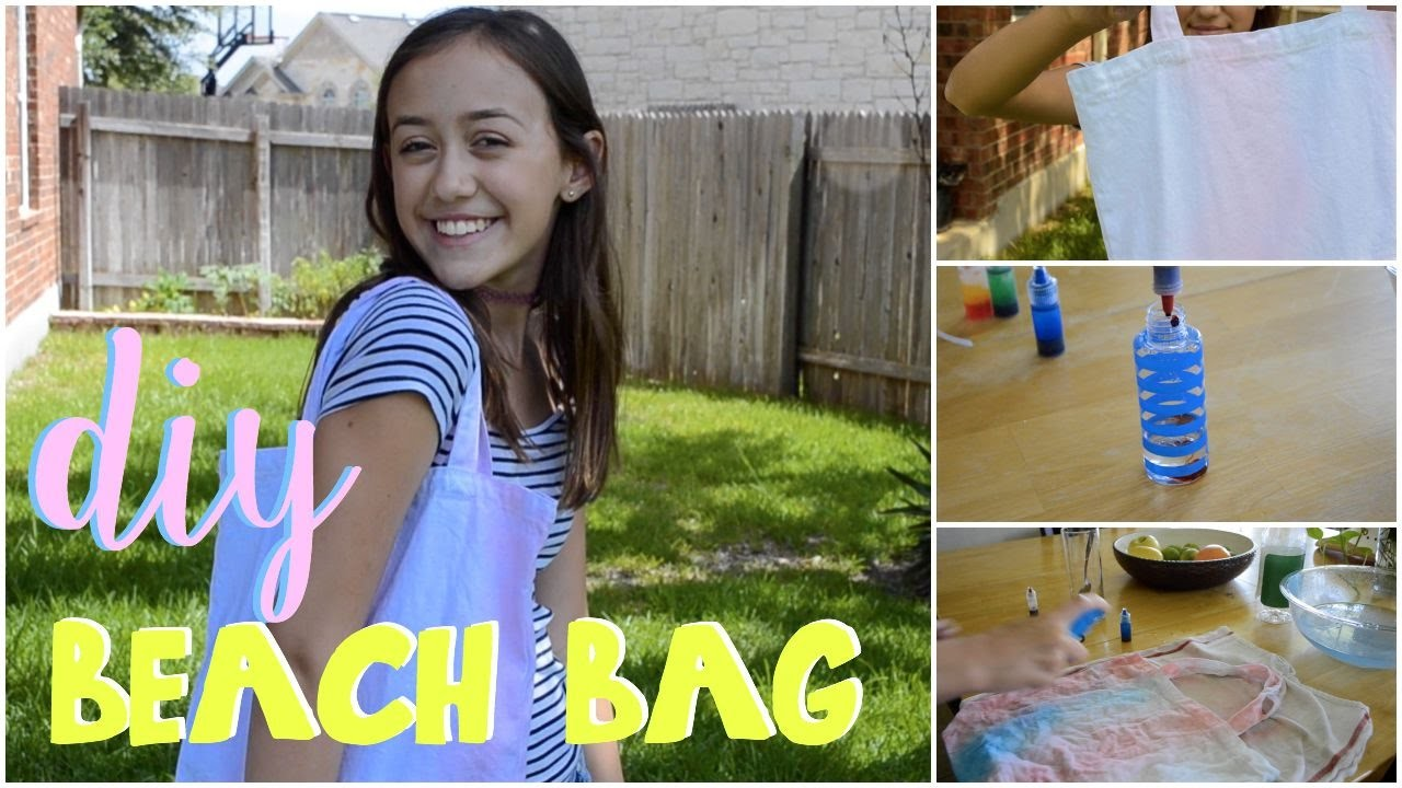DIY Beach Bag !
