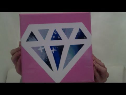DIY Diamond  Galaxy Canvas Hallyday 6