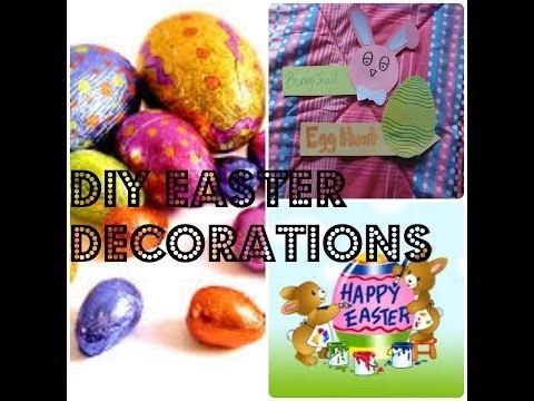 DIY Easter Decoations ~ LifeOfSkye
