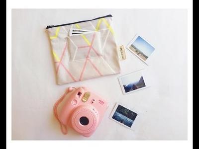 DIY: Fujifilm Instax mini 8 pouch