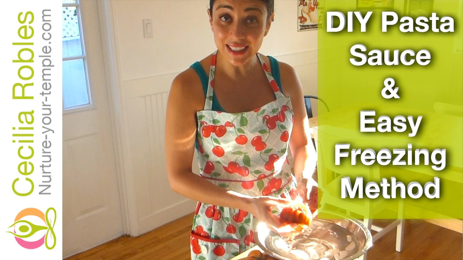 DIY Pasta Sauce & Funny Freezing Method