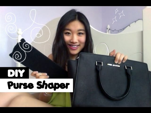 { DIY Purse Shaper }