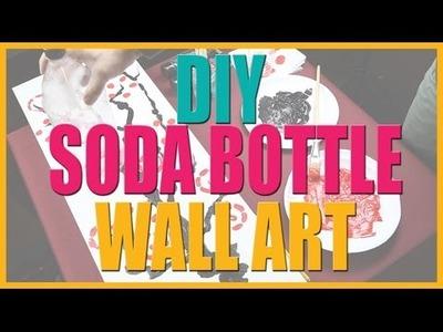 DIY Soda Bottle Wall Art