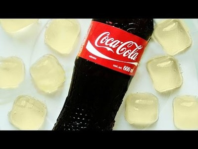 Make Fun Coca-Cola Shaped Grape Gelatin - DIY Food & Drinks - Guidecentral