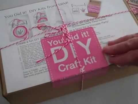 Princess Purses DIY Kit from SRM!