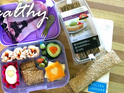 School Lunch Ideas - Healthy DIY Lunchables