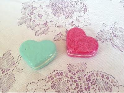 Squishy Tutorial: Heart Macaron ♡
