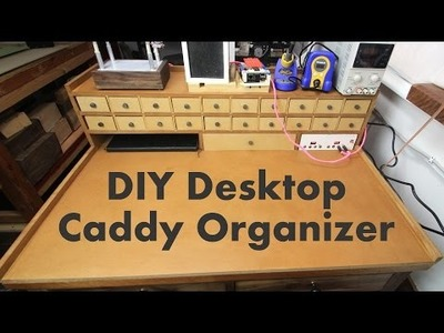 Ultimate DIY Small Parts Organization Caddy