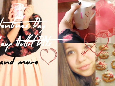 V-Day Makeup, Outfit, Treats, + DIY Decor!