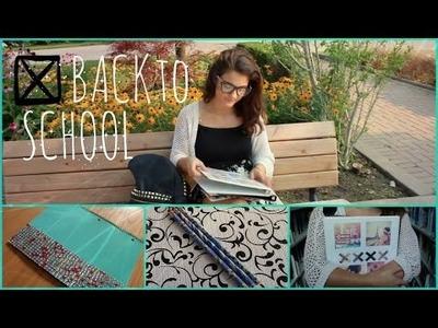 Back To SCHOOL DIY School Supplies  2014!