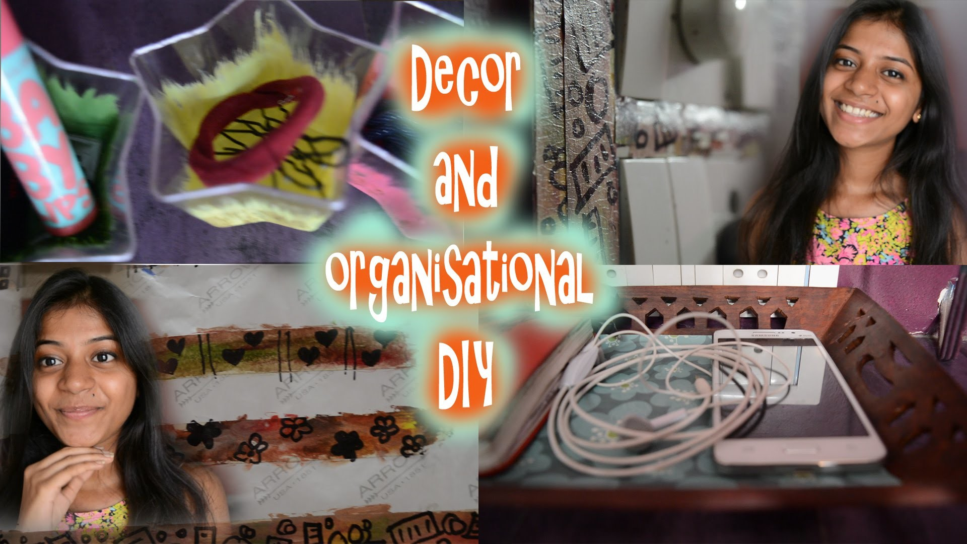 Decor and organizational DIY | Neesome DIY