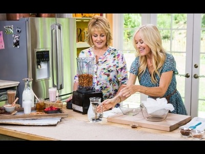 DIY Almond Milk with Cristina Ferrare on Hallmark's Home & Family