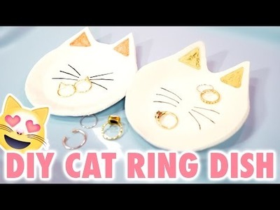DIY Cat-Shaped Ring Dish - HGTV Handmade