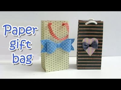 DIY crafts : Paper gifts bag - Ana | DIY Crafts