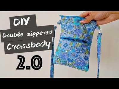 DIY Double Zippered Crossbody: 2.0!