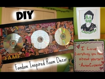 DIY Fandom Inspired Room Decor!