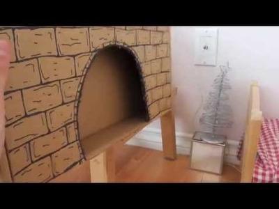 DIY: MAKING MY AG DOLL CHRISTMAS ROOM *HD*