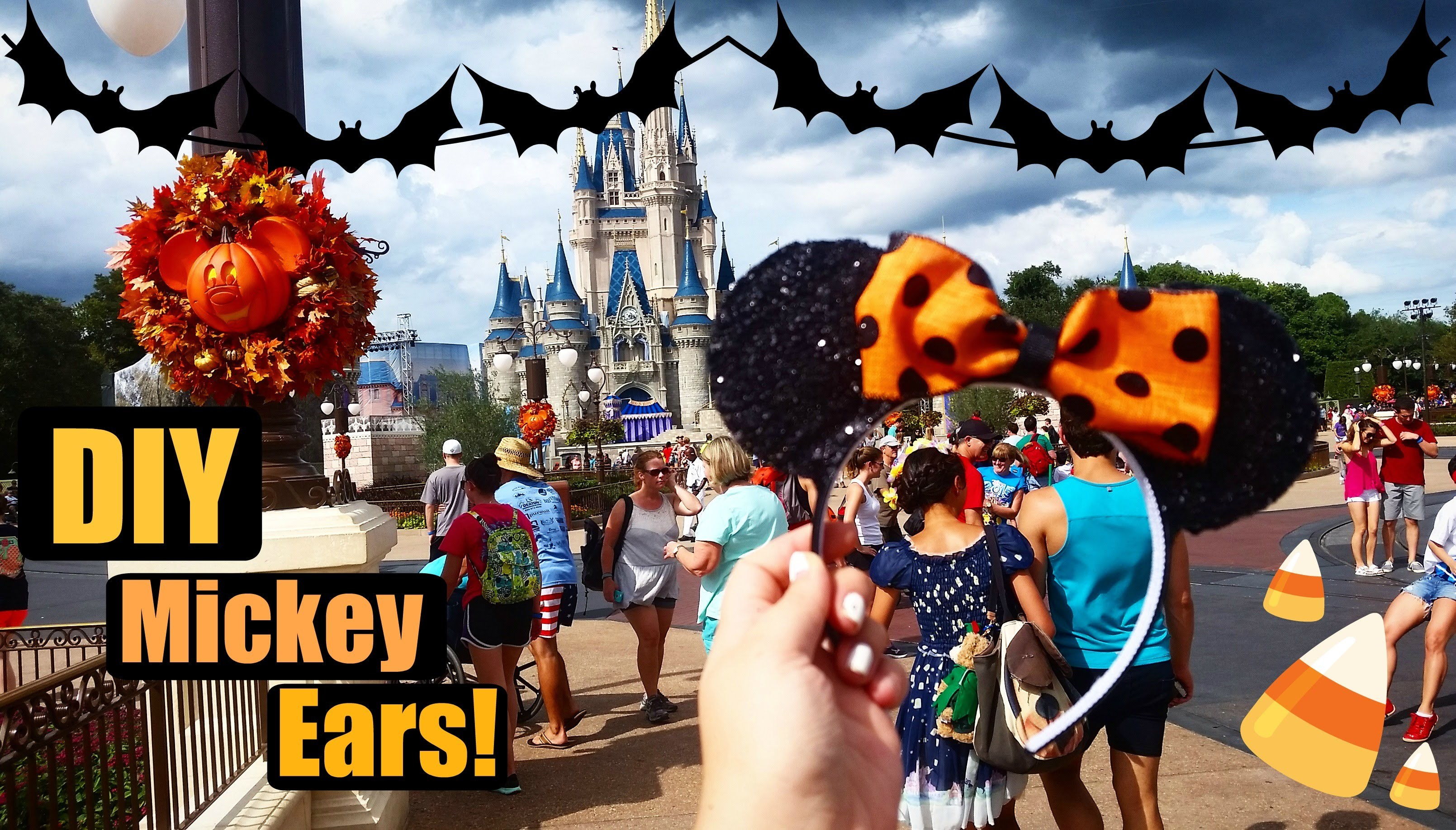 DIY Mickey Ears!!