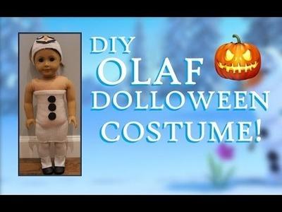 DIY Olaf Dolloween Costume!