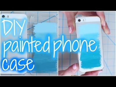 DIY - Painted Phone Case